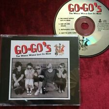 GO-GO's THE WHOLE WORLD LOST ITS HEAD 1994 4 track CD