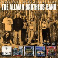 THE ALLMAN BROTHERS BAND - ORIGINAL ALBUM CLASSICS 5 CD NEW