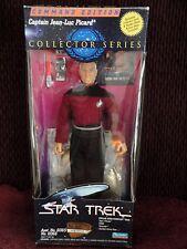 Star Trek CAPTAIN JEAN-LUC PICARD COMMAND EDITION Action Figure 1994 PLAYMATES