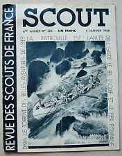 Scout Revue n° 120 Janvier 1939 Ill P JOUBERT