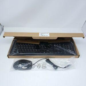 New HP Mulitmedia Keyboard SK-2085 697737-001 and Mouse 697738-001