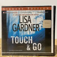 Touch and Go by Lisa Gardner Ex Library 12 CD Unabridged Audiobook Free Shipping