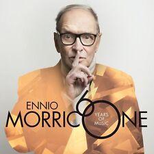 ENNIO MORRICONE 60 YEARS OF MUSIC CD (11/11/2016) **FREE UK P&P**
