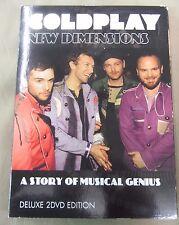Coldplay: New Dimensions (2 DVD Set) 2011 - HTF - All Region - 112 MIN
