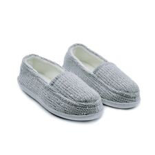 ASSUIEWinter  Comfy KNITS SEQUINS Ladies Slipper Soft Warm Moccasin Women Shoes