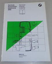 Formación bajo situación seminario bmw 5er e34 central carrocería electrónica modulo 9/1987
