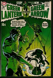 Green Lantern #76 DC Comics VFN Minus Glossy cents Classic Neal Adams art