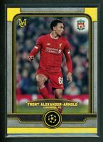 2020 TRENT ALEXANDER ARNOLD 39/50 TOPPS UEFA CHAMPIONS LEAGUE