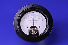 """A&M D.C. Microamperes Panel Meter 0-50 3.5"""" MR36W5T5DCUAR"""