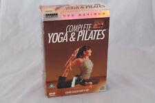 17 - TOPICS ENTERTAINMENT COMPLETE YOGA & PILATES 4 DVD WORKOUT BOX SET