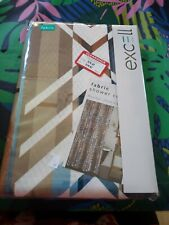 ExCell Fabric Shower Curtain, 70 by 72-Inch, NEW