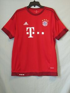 Adidas Climalite Bayern Munchen (Munich) FC Jersey Adult Large Excellent+