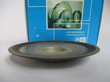 75mm. Hole 20mm. Tupe: 12R4 Dish Diamond Grinding Wheel 125/100µm 150 Grit