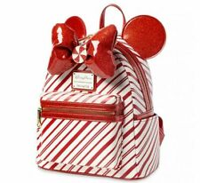 Sac A Dos LOUNGEFLY Disneyparks Peppermint Candy Cane Disney Neuf backpack Noel