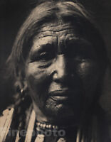 PHOTO PORTRAIT CURTIS NATIVE AMERICAN PEIGAN BIG BOUTH SPRING PRINT POSTER LF800