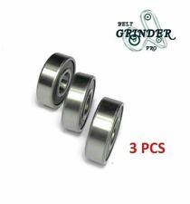 6201 2rs 12 Bore Bearings Rubber Sealed Ball Bearing 3 Pcs