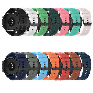For Huawei Watch GT2 46mm Silicone Watch Strap Replacement Smartwatch Band Belt