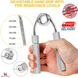 Hand Grip Strengthener Adjustable Resistance Exerciser Forearm Gripper Workout