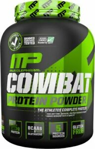 MusclePharm Combat Whey Protein Powder - Chocolate Milk - 4 Lbs