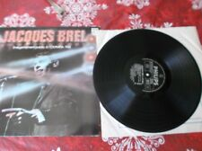 Jacques Brel A olympia 1961 double LP France pressing