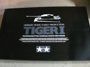 New 1/16 Tamiya R/C German Tiger I Ausf E Early Production Full Option Kit