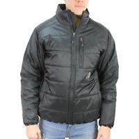 HUF Mens Geode Puffer Jacket Black M New