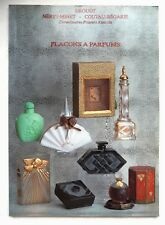 "RARE CATALOGUE DE VENTE ""FLACONS A PARFUM"" ANCIENS / MAI 1991 / COLLECTION"