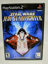 Star Wars Jedi Starfighter -PS2- Playstation Replacement CASE *NO GAME*
