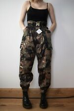 Zara camouflage Cargo Trousers pants Army Green Size M Medium bloggers fav