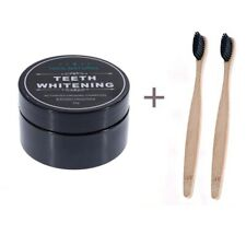 NEW Activated Charcoal Powder Natural Organic Black Teeth Whitening Toothpaste