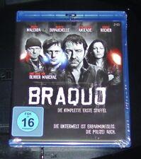 Braquo Die Completa Stagione 1 Blu-Ray Spedizione più Veloce Nuovo e Confezione