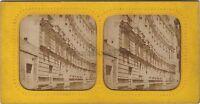 Venezia Canal Italia Stereo Diorama Vintage Albume D'Uovo Ca 1860