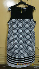 OLD NAVY dress - black/white large