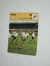 Stecker Champion Rugby a.Boniface Dax Stadion Mons Team Frankreich 1977