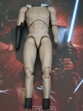 HOT TOYS STAR WARS ROTS SDCC 2018 ANAKIN SKYWALKER nude body -- US SELLER