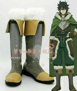The Rising Of The Shield Hero Naofumi Iwatani Shoes Cosplay Comic Con Boots