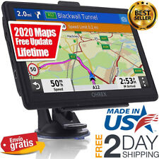 Semi Truck Gps Commercial Driver Big Rig Accessories Navigation System Trucker.