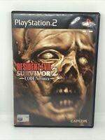 Resident Evil Survivor 2: Code Veronica, Sony Playstation 2 Game, Trusted Shop