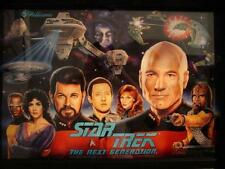 Star Trek The Next Generation Flipper kit en Caoutchouc