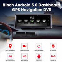 "Android GPS Sat Navigation Dashcam 8 ""HD 1080P DVR-Videokamera-Recorder Dash Cam"