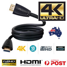 HDMI CABLE - ULTRA HD Premium V2.0 3D High Speed Ethernet Gold Plated 1M 2M 3M