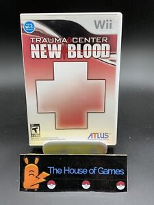 Trauma Center: New Blood (Nintendo Wii) Complete Manual Canada Free Shipping