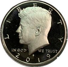 2019 S Proof Kennedy Half Dollar 50¢ Cent US Coin CV625