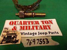 Jeep Willys M38 M38A1 NOS Speedometer input gear G740 G758 (S102)