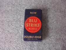 Old Vtg Collectible Blu Strike Blades Double Edge Matches Made in the USA