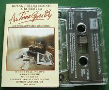 As Time Goes By Unforgettable Memories RPO inc Moon River + Cassette Tape TESTED