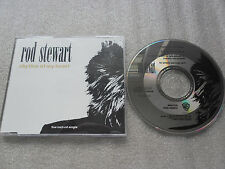 CD-ROD STEWART-RHYTHM OF MY HEART-MOMENT OF GLORY-(CD SINGLE)-3TRACK-MAXI CD
