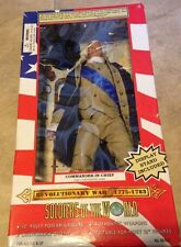 Soldiers of the World Revolutionary War Commander In Chief Figure NEW Sealed