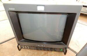 Sony PVM-8041Q Trinitron Color Video Monitor Vintage Retro Gaming w/ Power Cord