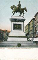 NAPOLI – Monumento Al Re Vittorio Emanuele II – Naples – Italy – udb (pre 1908)